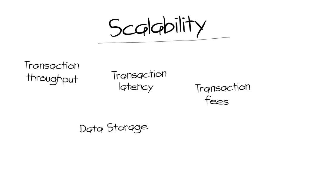 Transaction latency