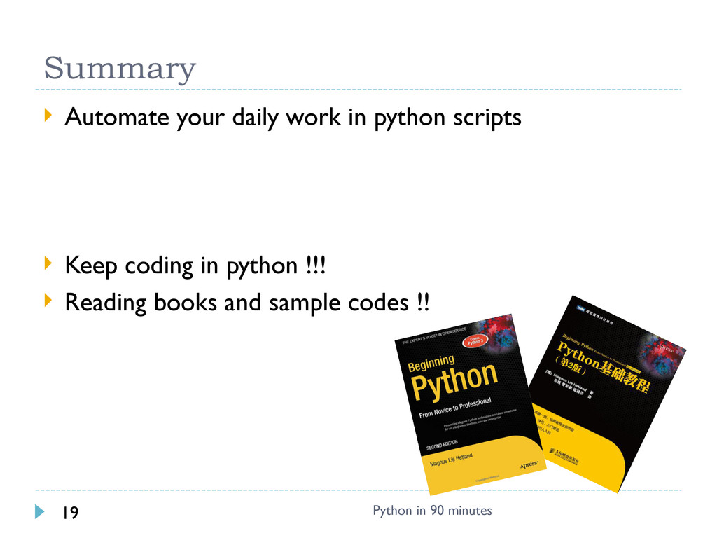  Automate your daily work in python scripts  ...