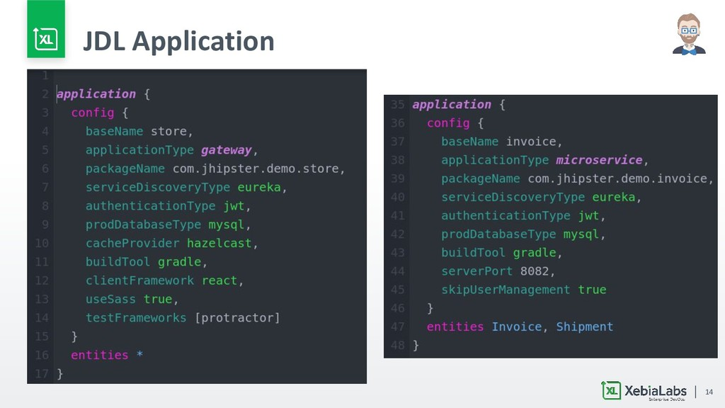14 JDL Application