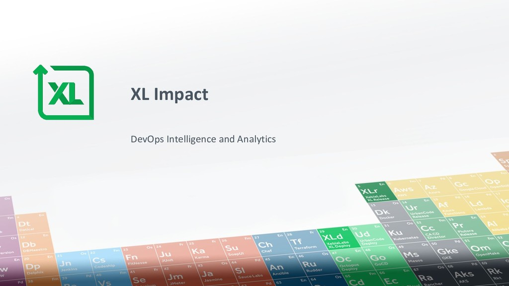 XL Impact DevOps Intelligence and Analytics