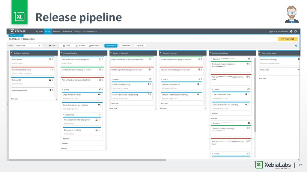 22 Release pipeline