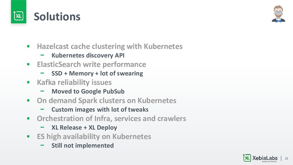 25 Solutions ▪ Hazelcast cache clustering with ...