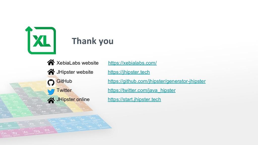 Thank you XebiaLabs website https://xebialabs.c...