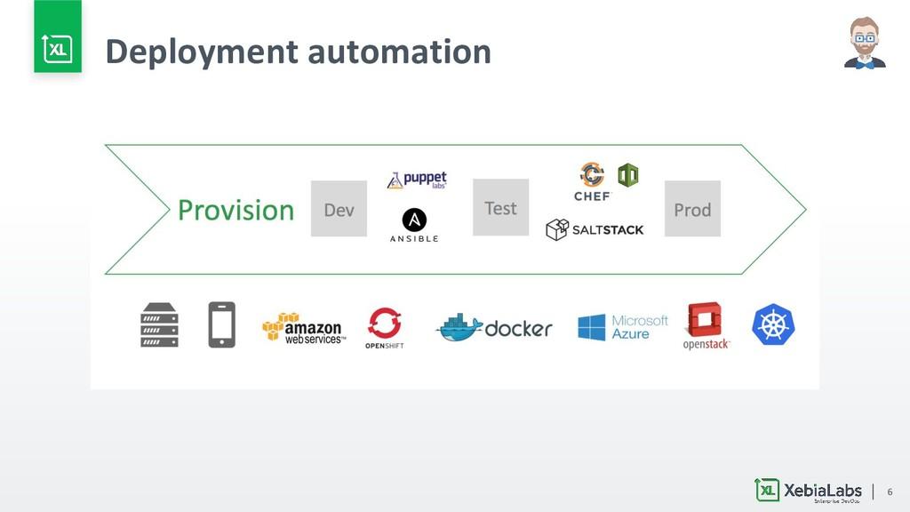 6 Deployment automation