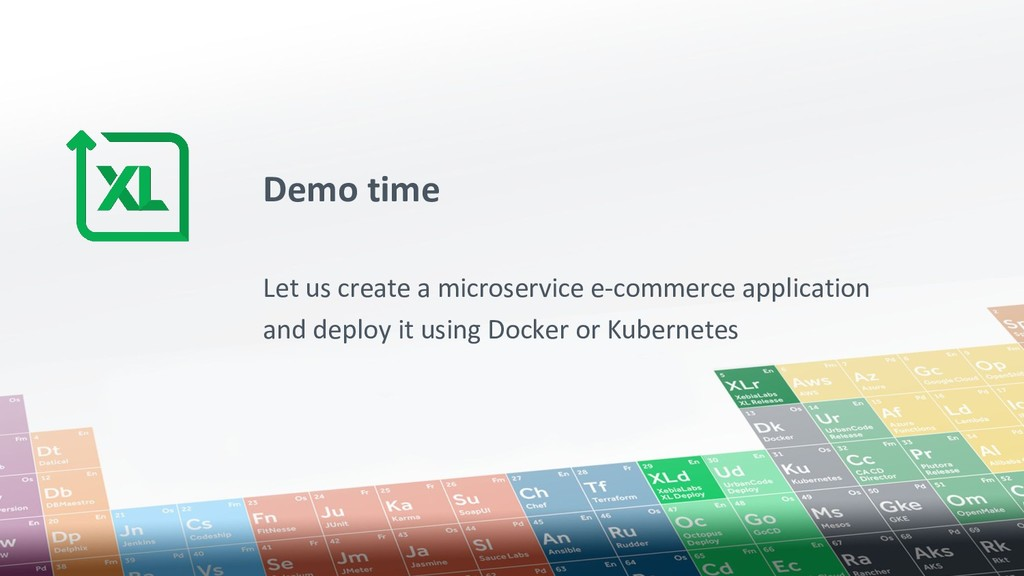 Demo time Let us create a microservice e-commer...