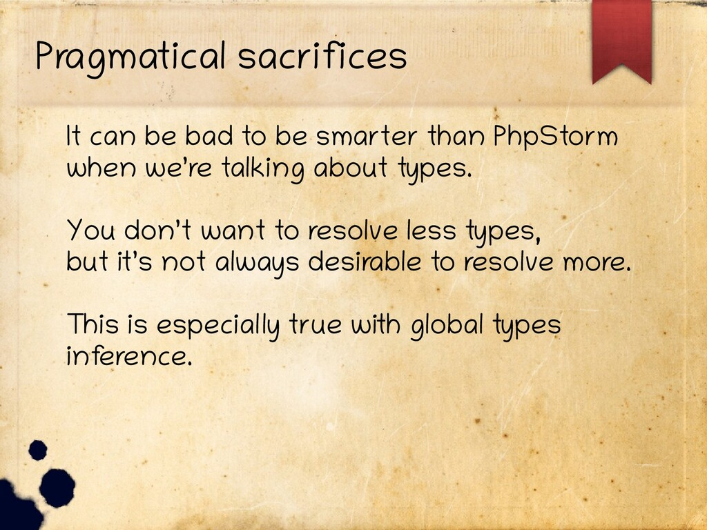 Pragmatical sacrifices It can be bad to be smar...