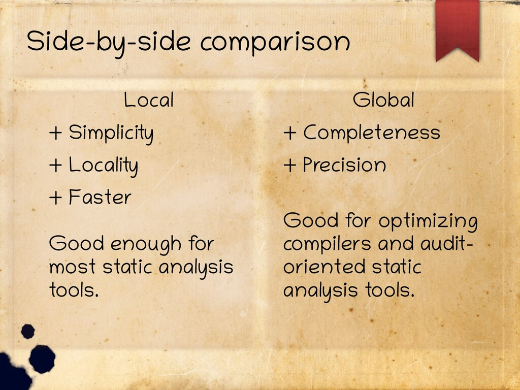 Side-by-side comparison Local + Simplicity + Lo...