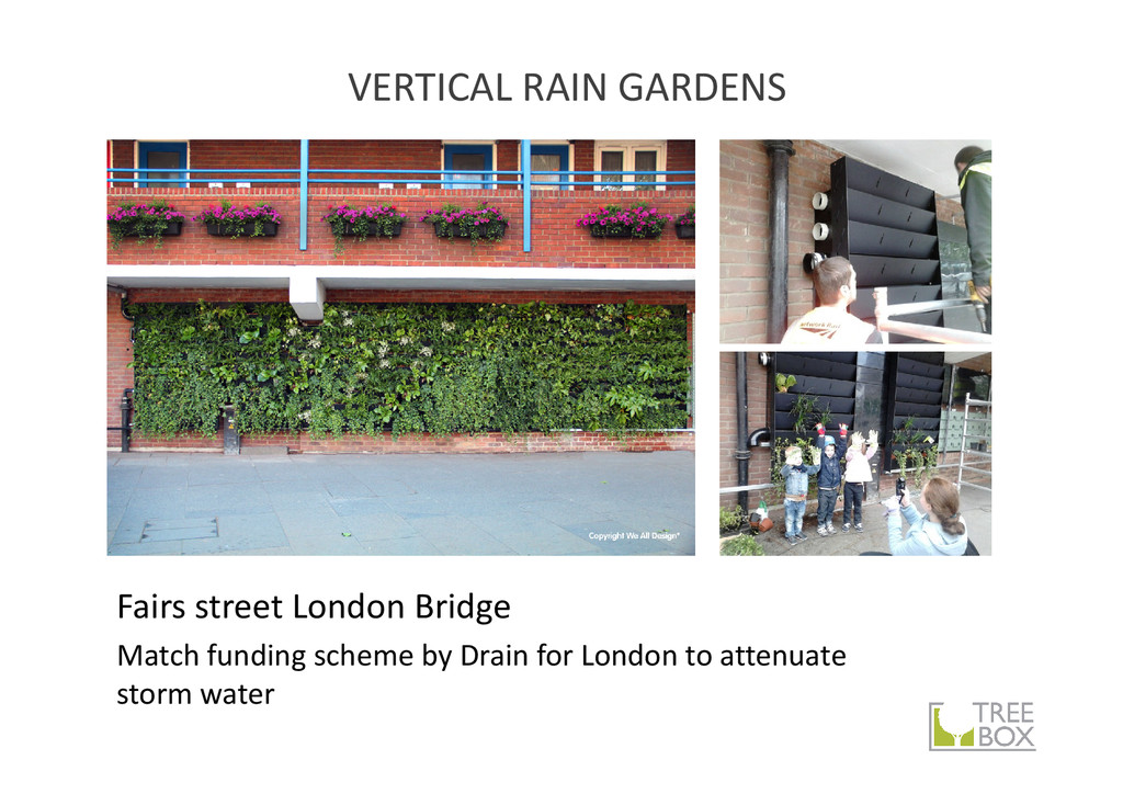 Fairs street London Bridge Match funding scheme...
