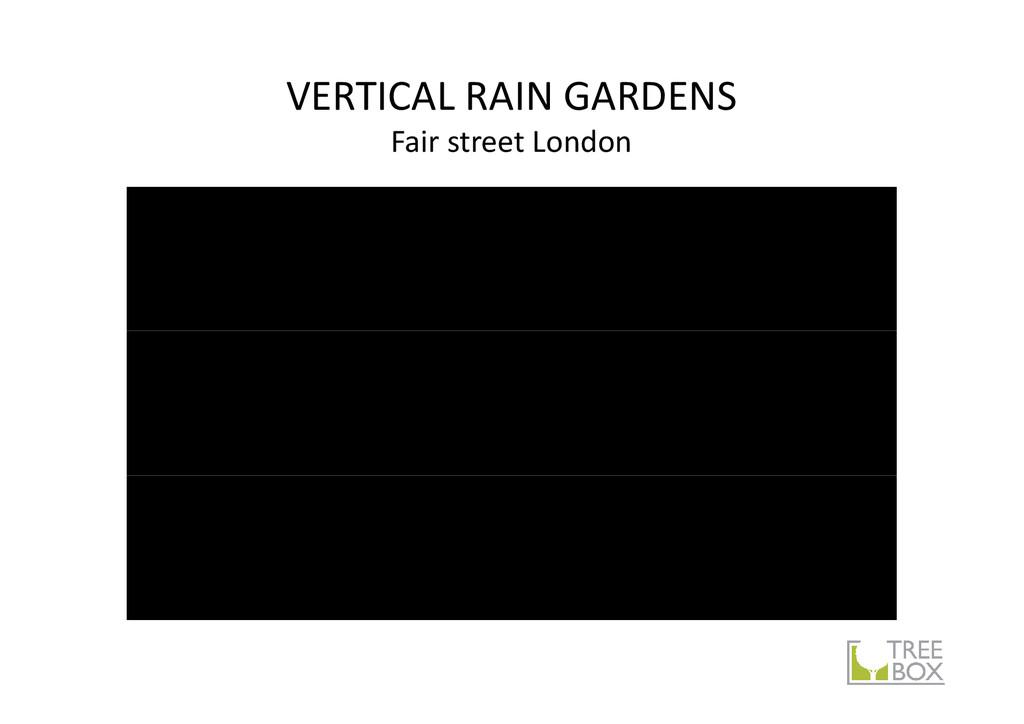 VERTICAL RAIN GARDENS Fair street London