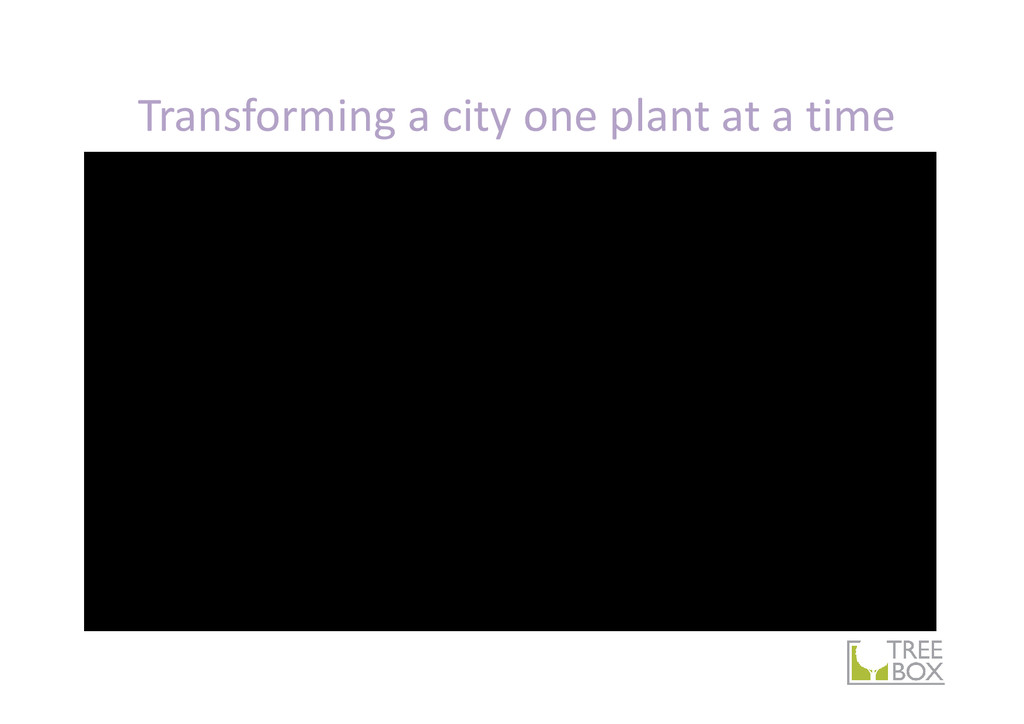 Transforming a city one plant at a time