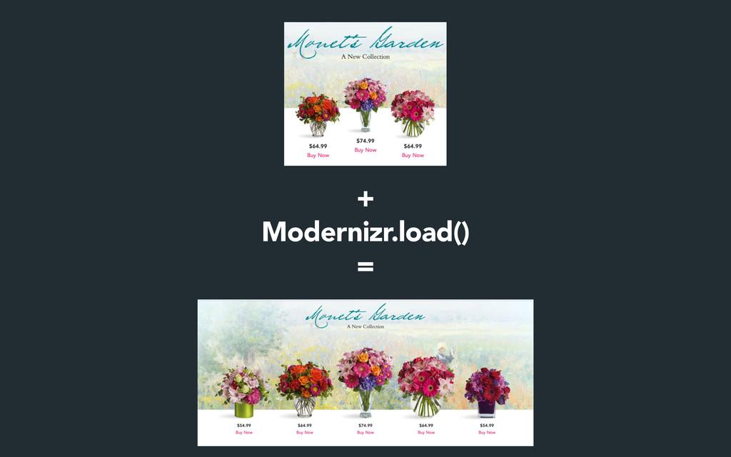 + Modernizr.load() =