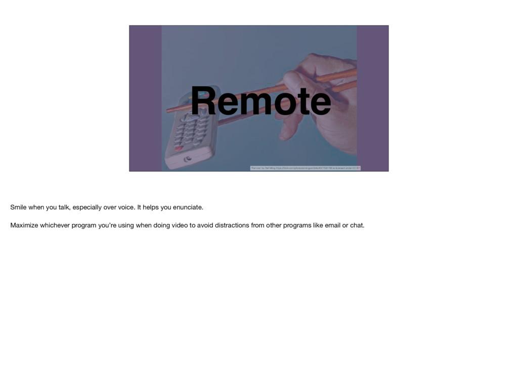 "Remote ""Remote"" by Stef Ming https://flickr.com/..."
