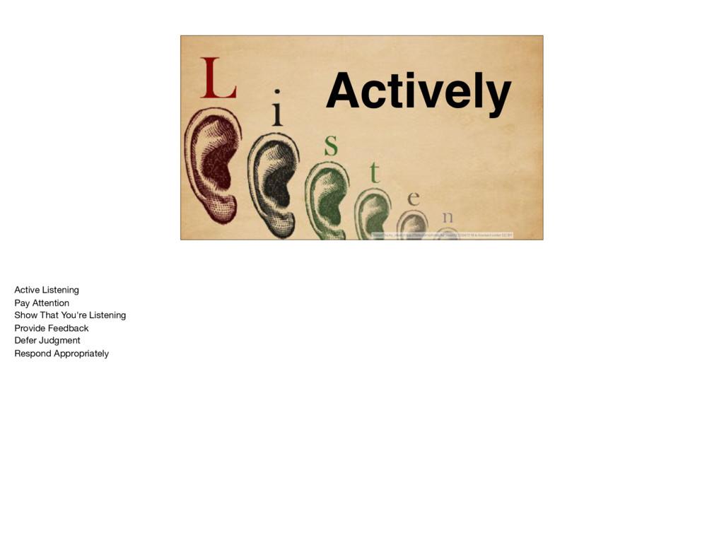 """Actively """"Listen"""" by ky_olsen https://flickr.com..."""