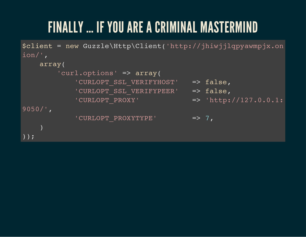 FINALLY … IF YOU ARE A CRIMINAL MASTERMIND $ c ...