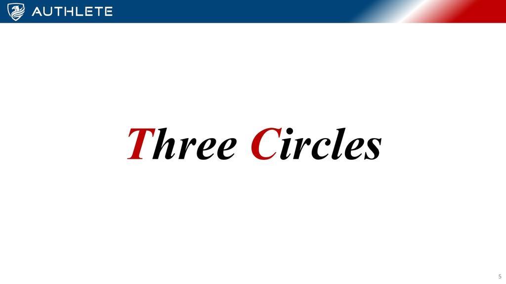 Three Circles 5