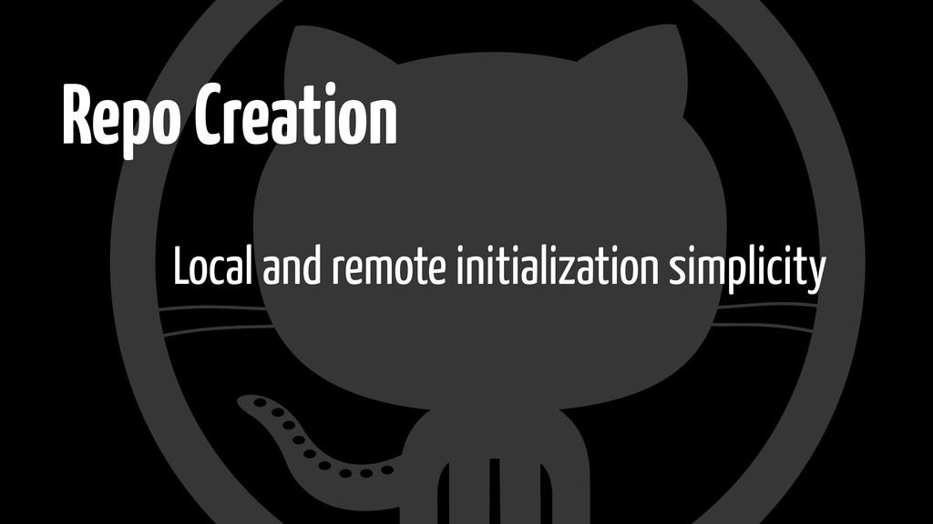 Repo Creation Local and remote initialization s...