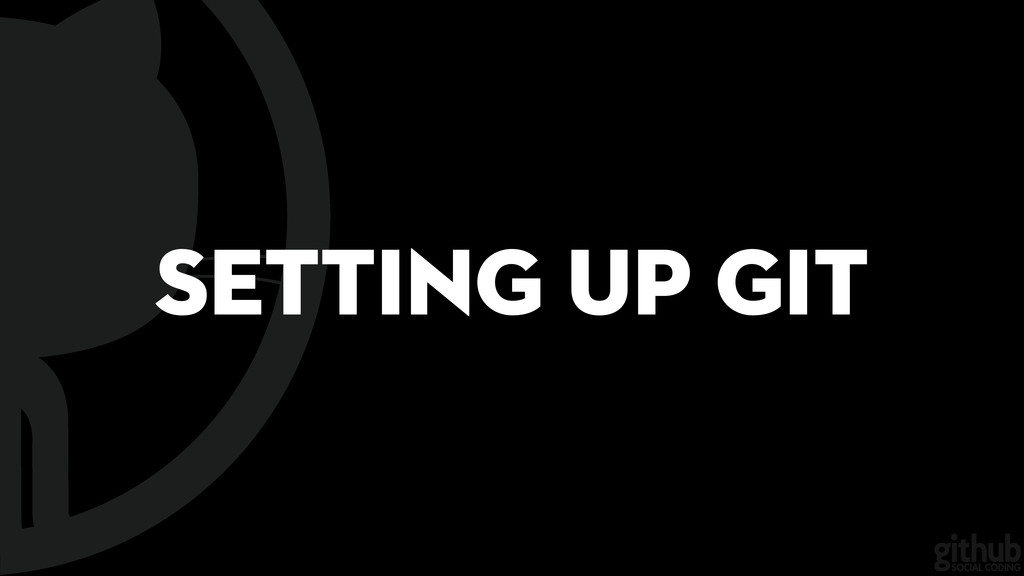 Setting Up Git
