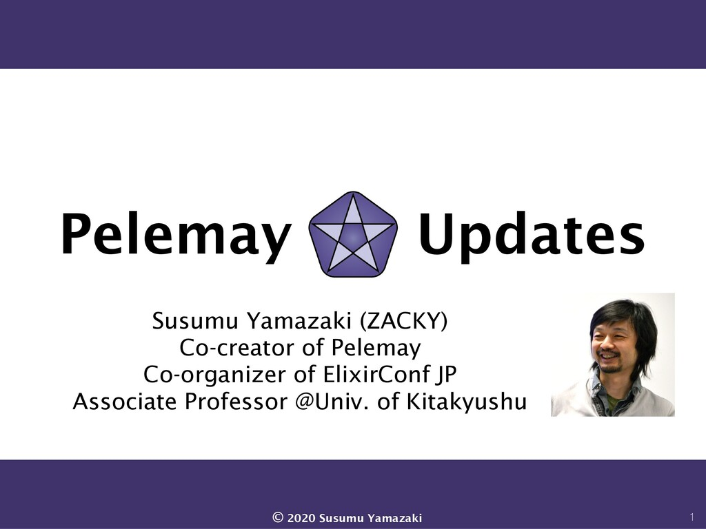Pelemay Updates Susumu Yamazaki (ZACKY) Co-crea...