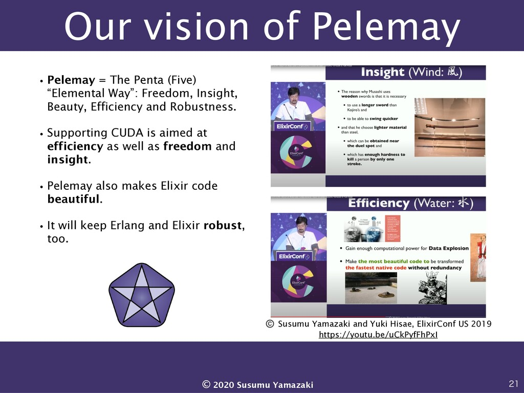 Our vision of Pelemay •Pelemay = The Penta (Fiv...