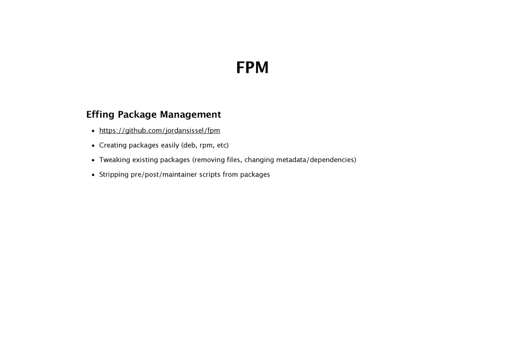 FPM Effing Package Management • https://github....
