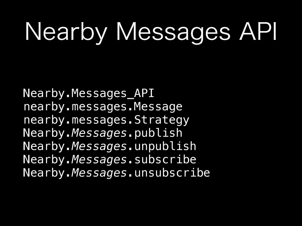 """/FBSCZ.FTTBHFT""""1* Nearby.Messages_API nearby...."""