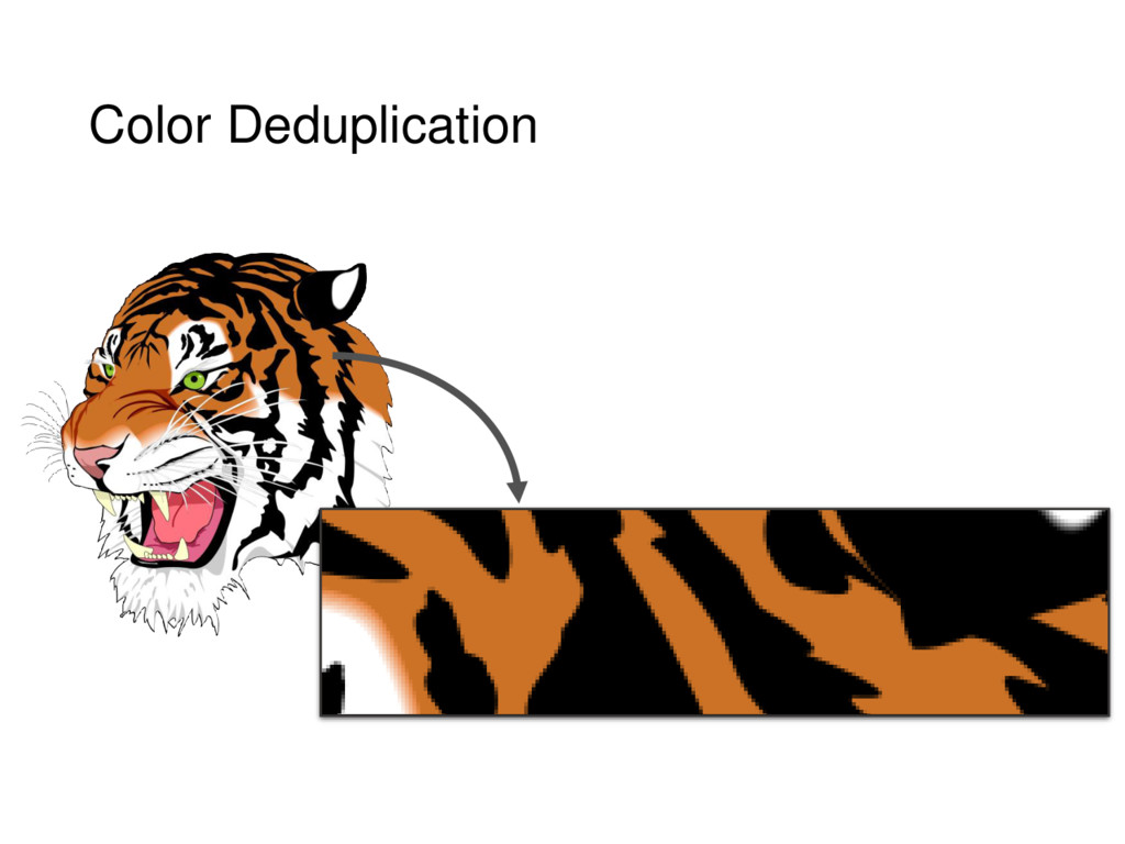 Color Deduplication