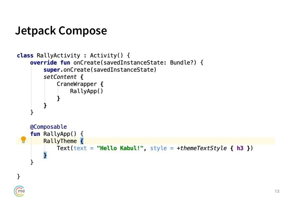 Jetpack Compose 13