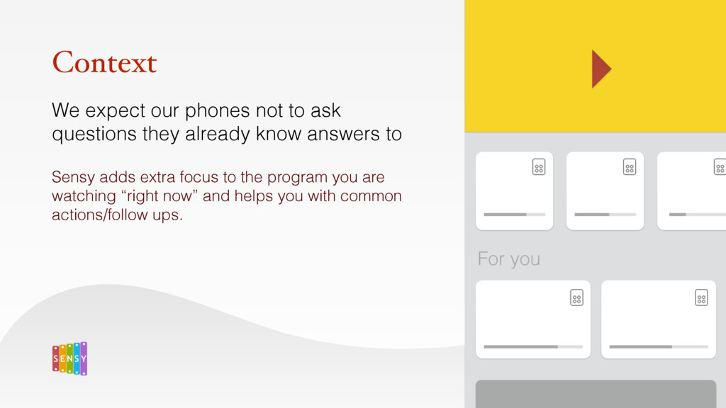 We expect our phones not to ask questions they ...