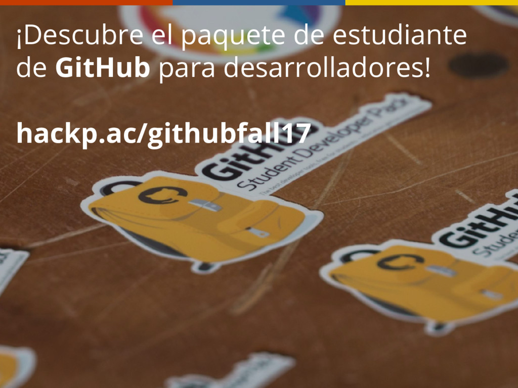 ¡Descubre el paquete de estudiante de GitHub pa...