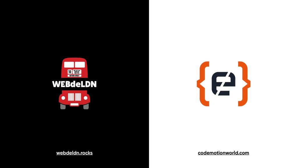 webdeldn.rocks codemotionworld.com