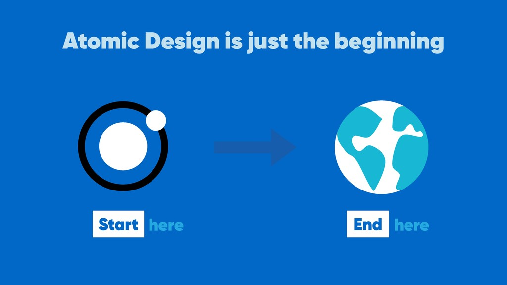 Atomic Design is just the beginning Start here ...
