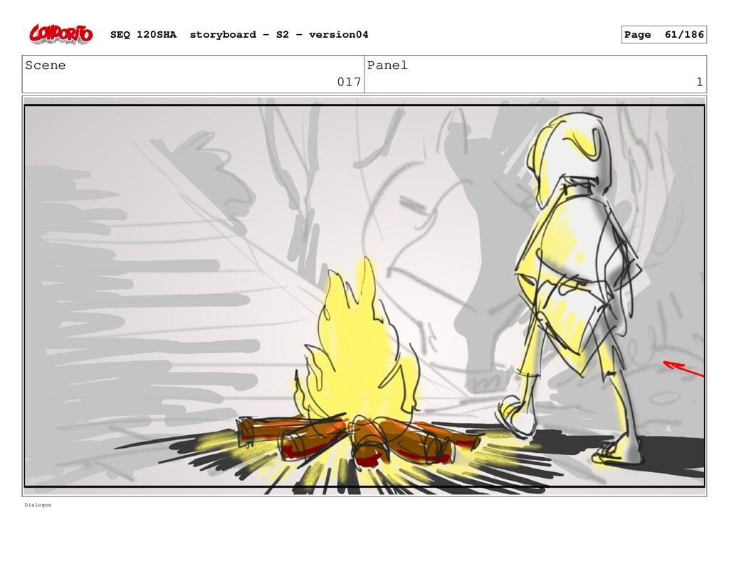 Scene 017 Panel 1 Dialogue SEQ 120SHA storyboar...