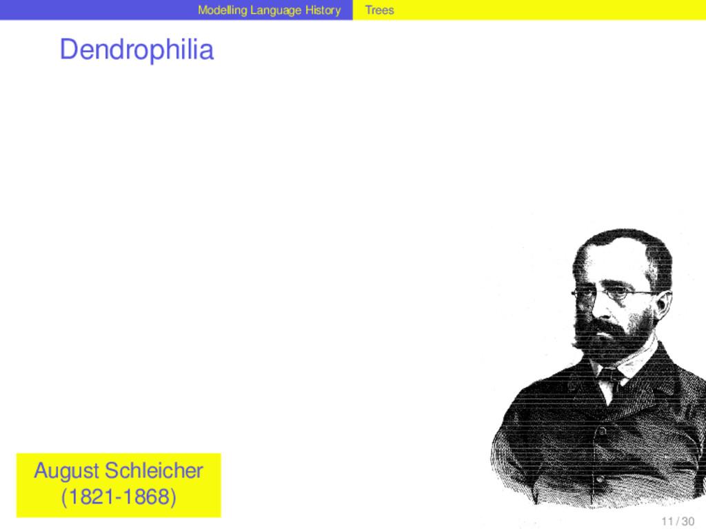 Modelling Language History Trees Dendrophilia A...