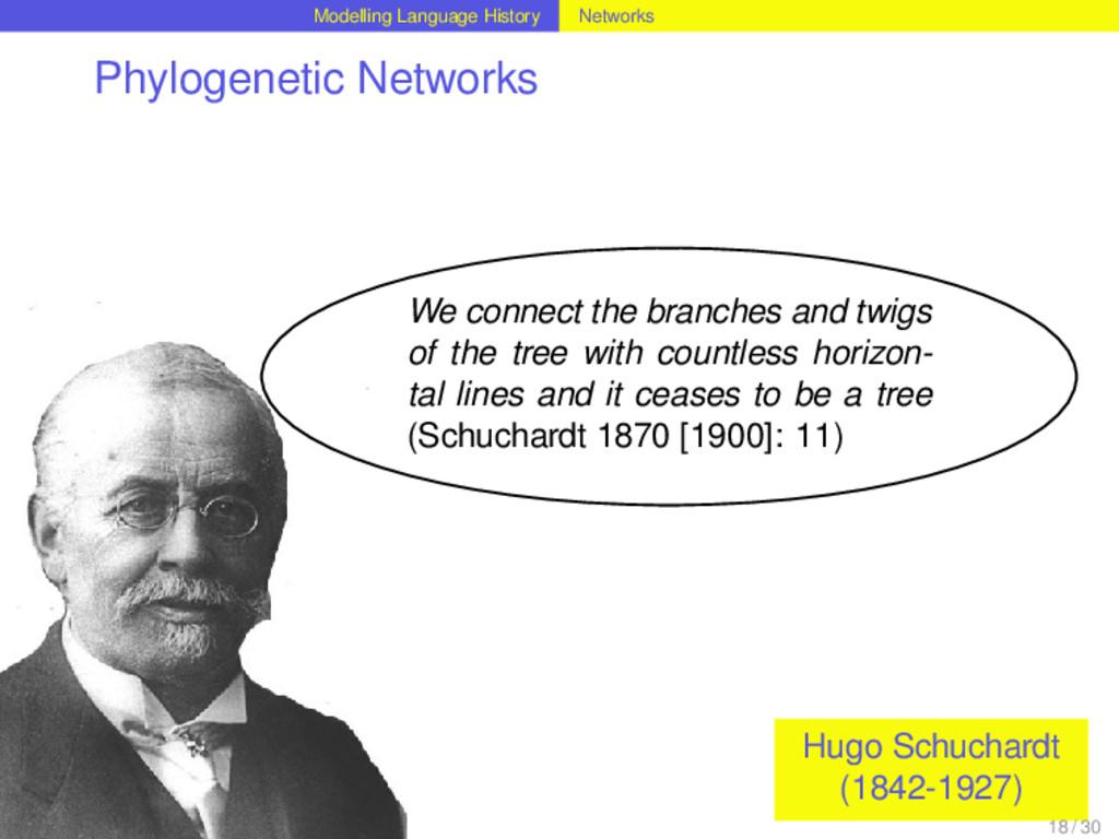 Modelling Language History Networks Phylogeneti...