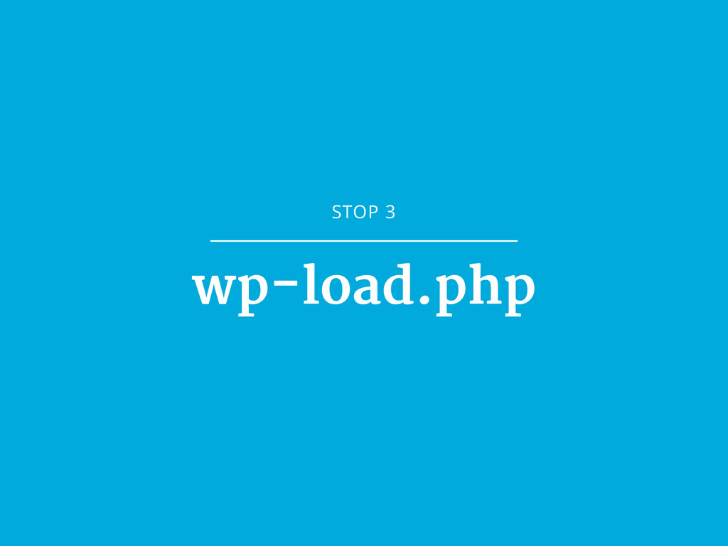 STOP 3 wp-load.php