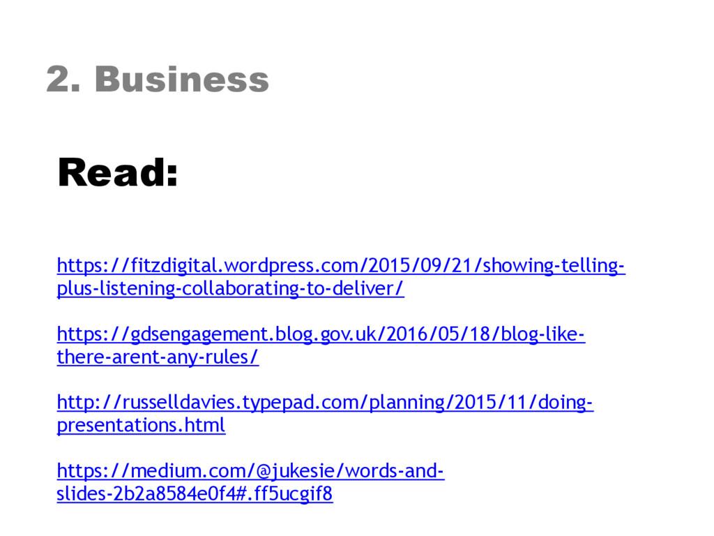 2. Business Read: https://fitzdigital.wordpres...