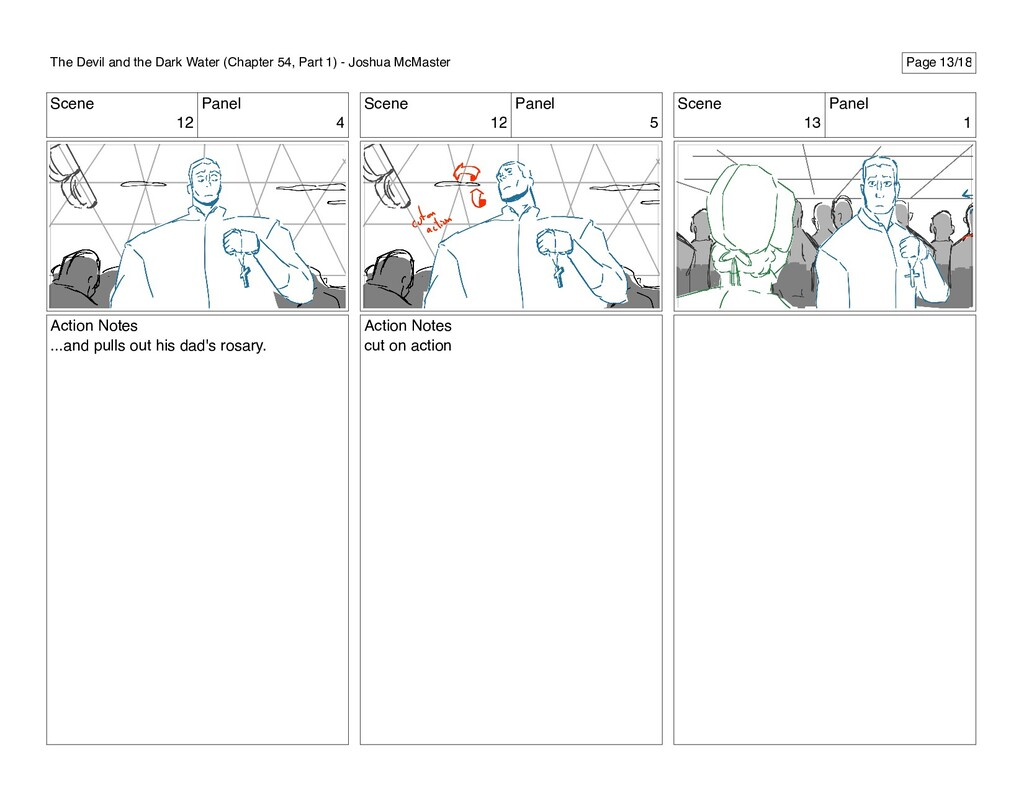 Scene 12 Panel 4 Action Notes ...and pulls out ...
