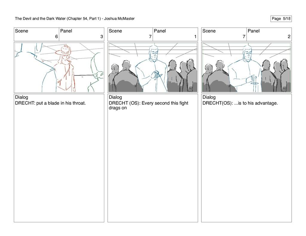 Scene 6 Panel 3 Dialog DRECHT: put a blade in h...