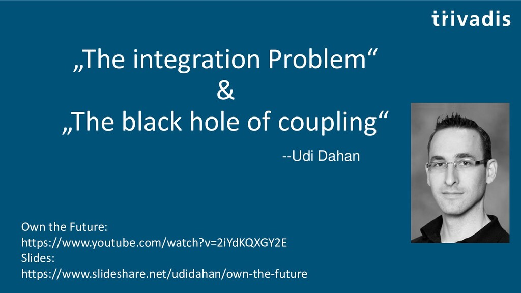"""""""The integration Problem"""" & """"The black hole of ..."""