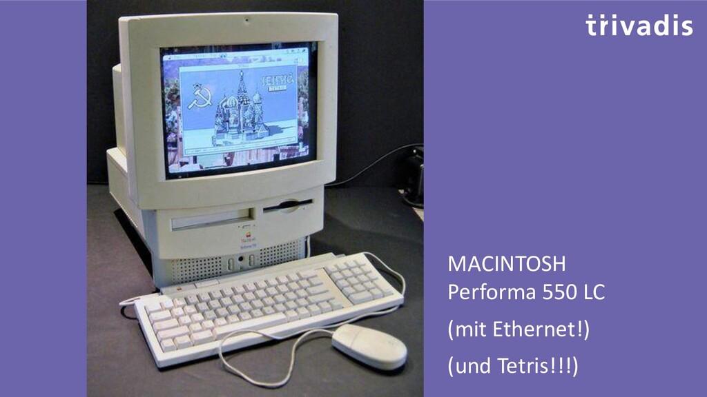 MACINTOSH Performa 550 LC (mit Ethernet!) (und ...