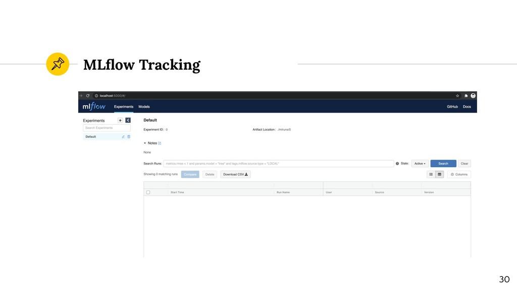 MLflow Tracking 30