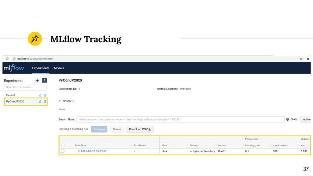 MLflow Tracking 37