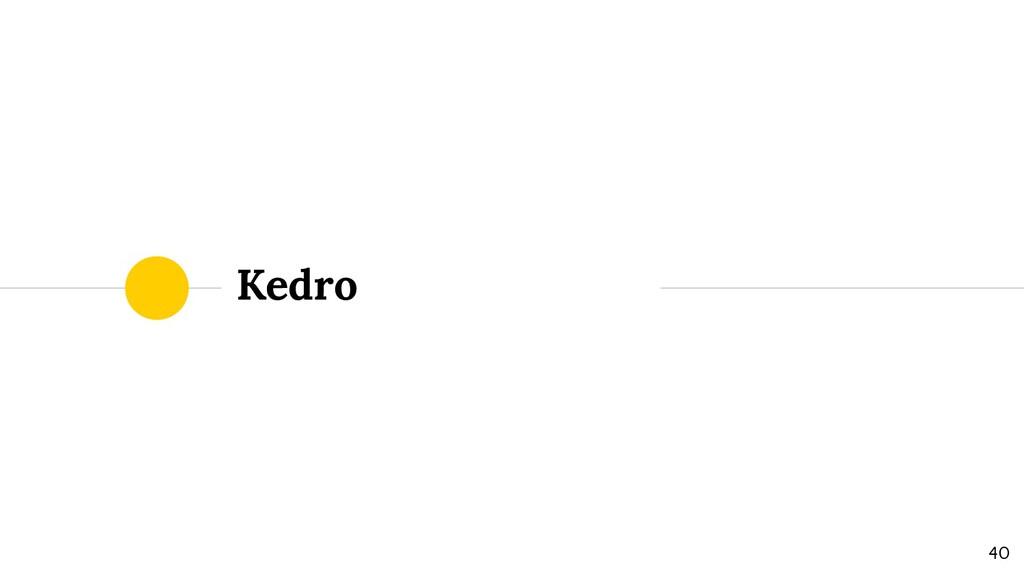 Kedro 40