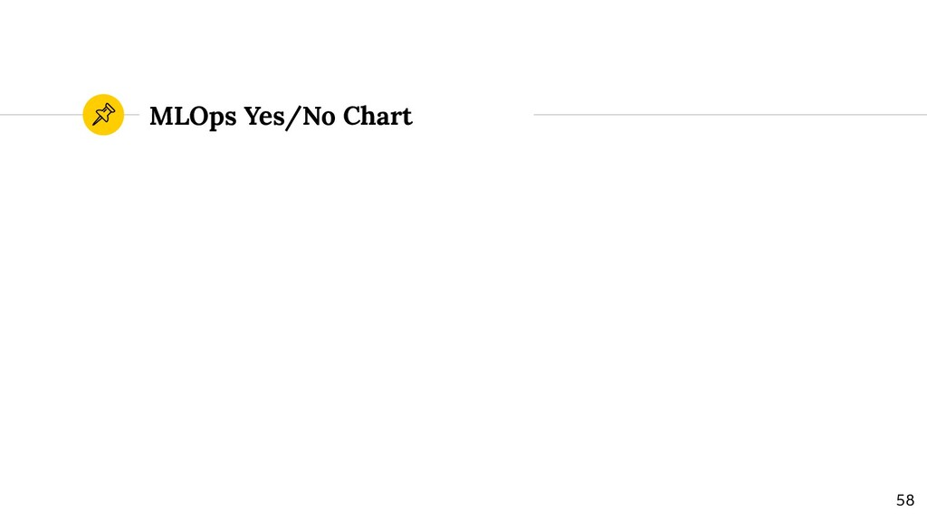 MLOps Yes/No Chart 58