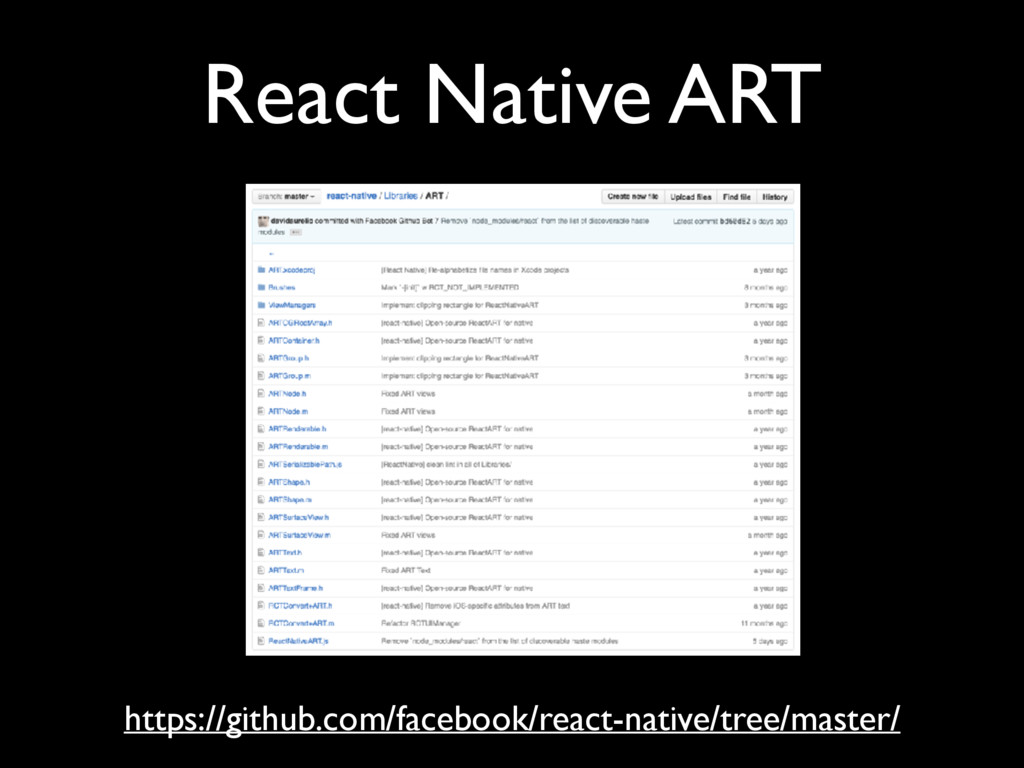 React Native ART https://github.com/facebook/re...