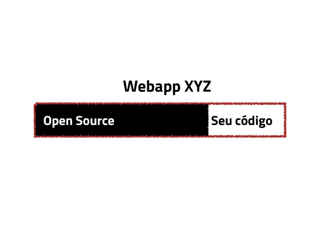 Open Source Seu código Webapp XYZ