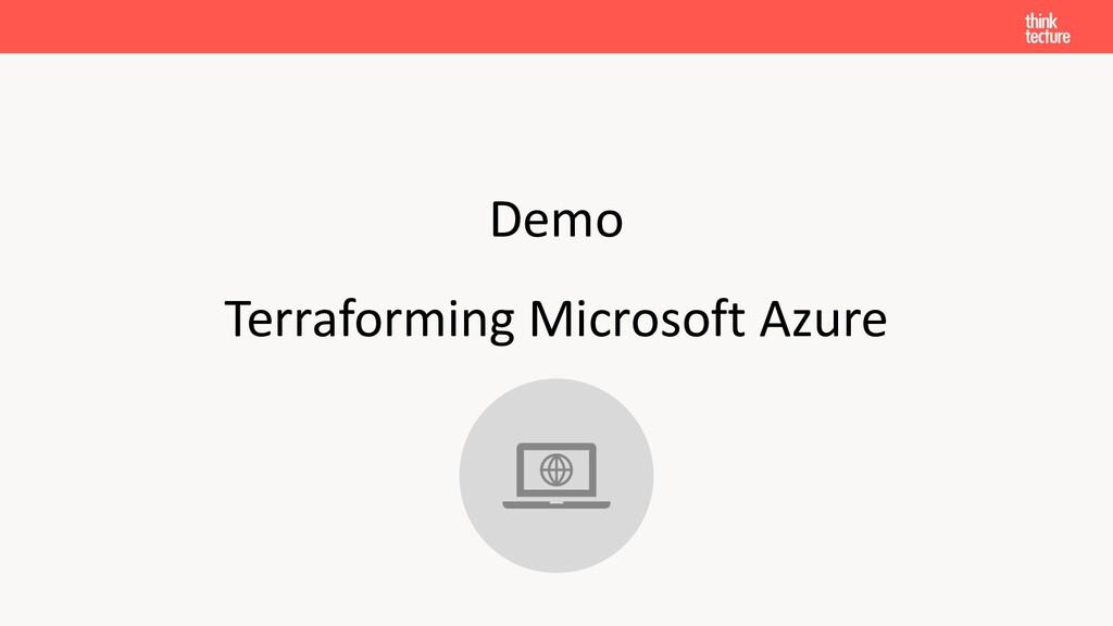 Demo Terraforming Microsoft Azure