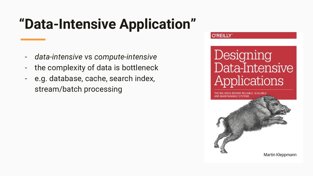"""Data-Intensive Application"" - data-intensive v..."