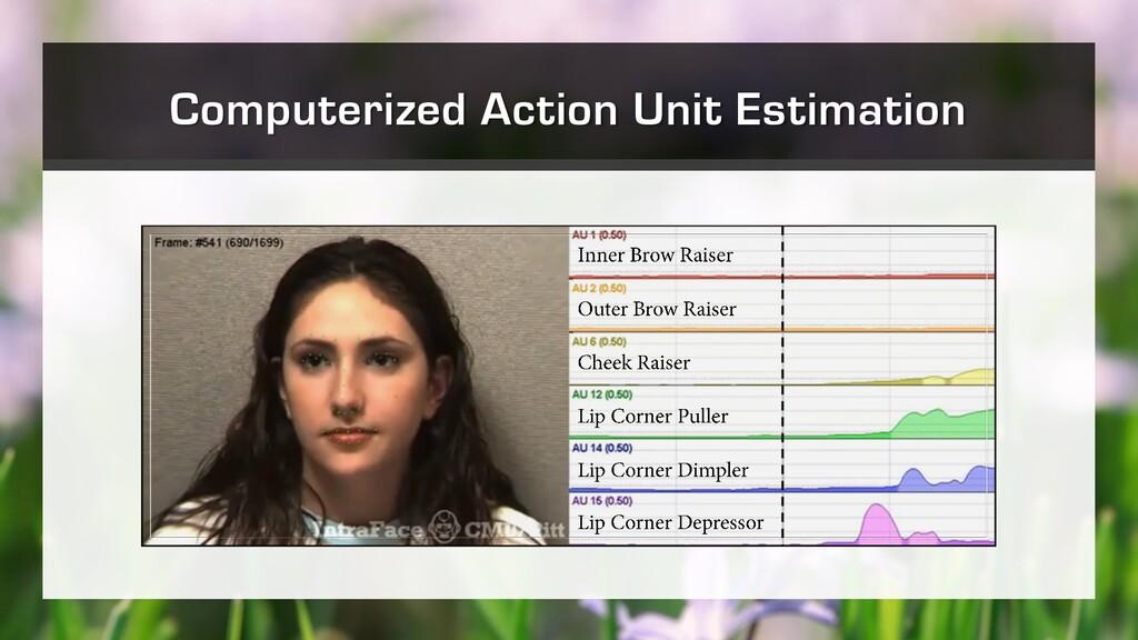 Computerized Action Unit Estimation